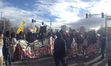 VIDEO: Inauguration Day protests on the streets of Sacramento