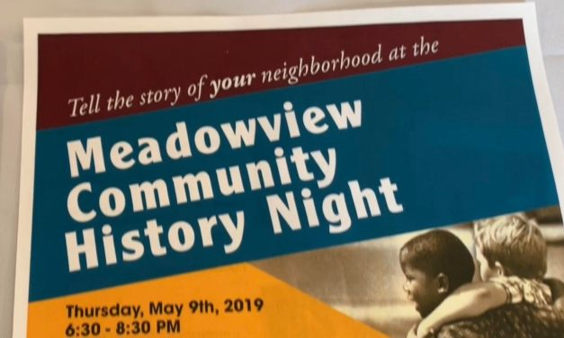 The Meadowview Community History Night Event