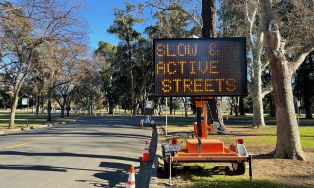 Slow Start to Slow & Active Streets Initiative