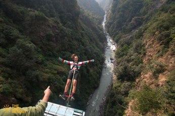 Bungy jumping nepal