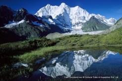Mount Chomolonzo kangshung face