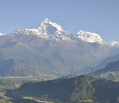Machhapuchhre fishtail mountain pokhara