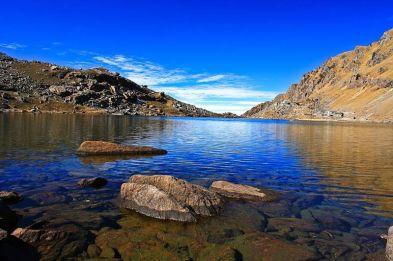 Langtang gosaikunda lake