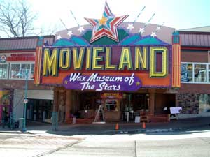 Movieland Wax Museum of Stars in Niagara Falls
