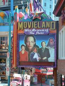 Movieland Wax Museum of Stars in Niagara Falls