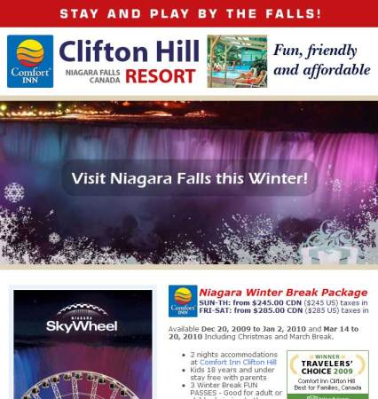 20091130_clifton_hill_resort_update_email_newsletter