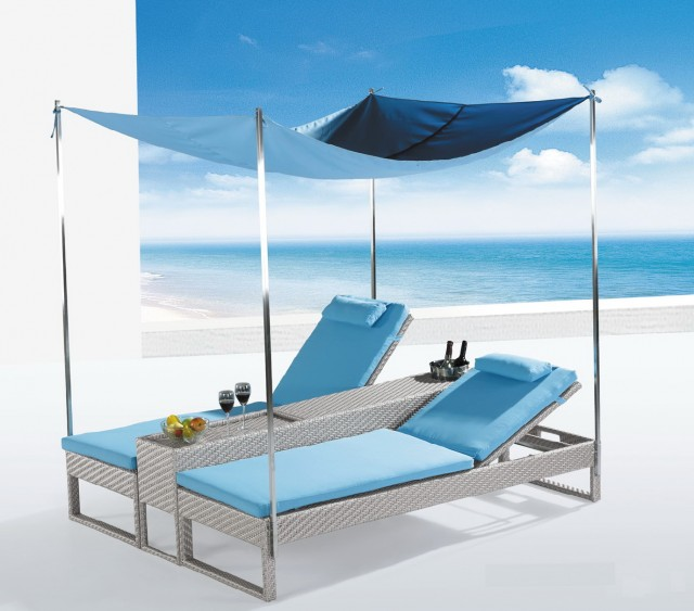 Chaise Lounge Patio Sets