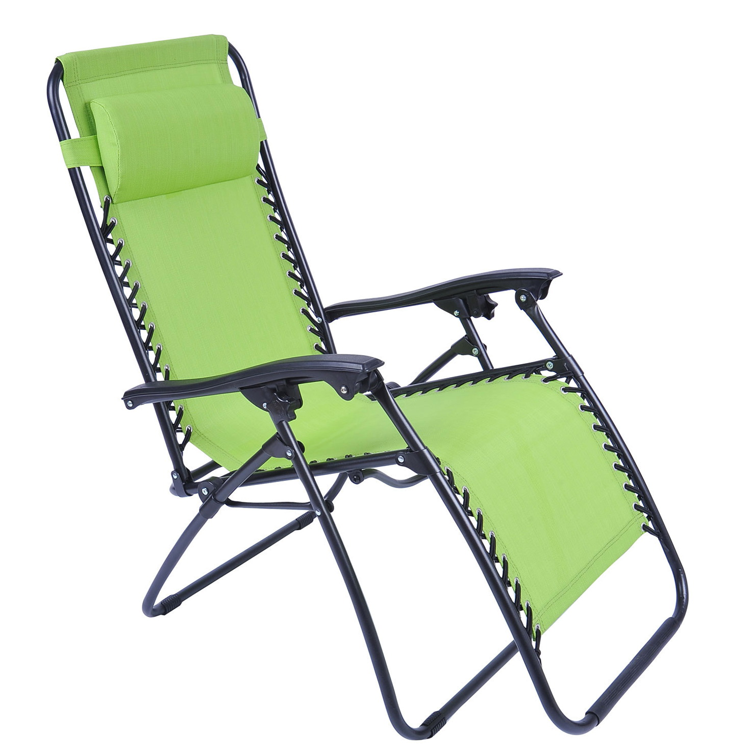 Folding Lounge Beach Chair Folding Chaise Lounge Chair Patio Outdoor Pool Beach Lawn