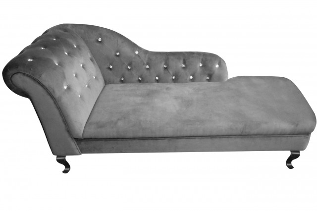 Grey Couch With Chaise Lounge