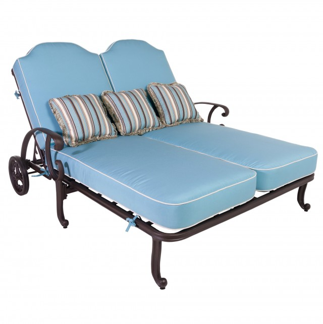Double Chaise Lounge Chairs Outdoor