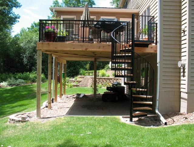 Aluminum Porch Railing Kits