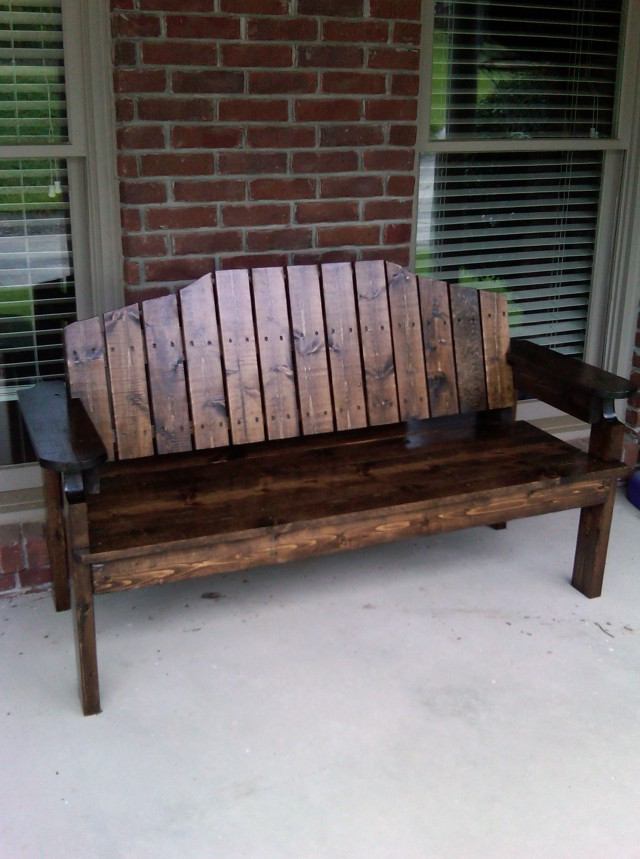 Front Porch Bench Home Depot