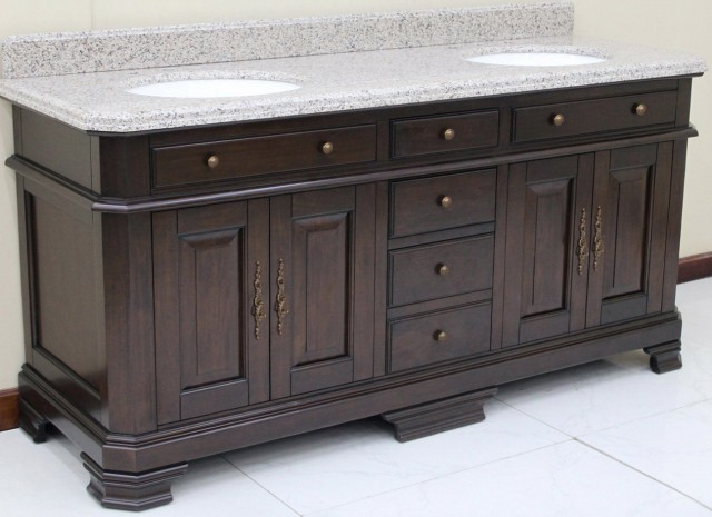 72 Inch Bathroom Vanity With Granite Top