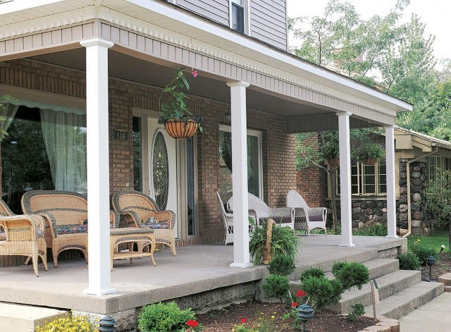 Square Porch Posts And Columns