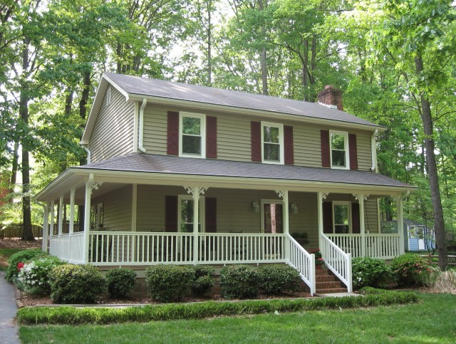 Two Story Farmhouse Plans With Wrap Around Porch