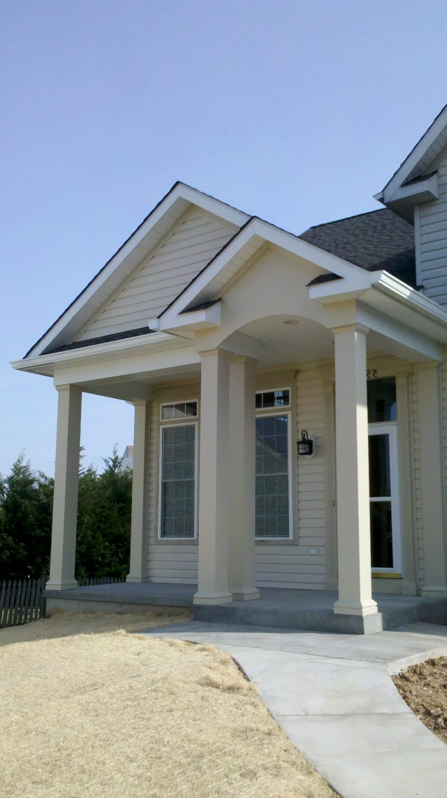 Adding A Porch To Front Of House