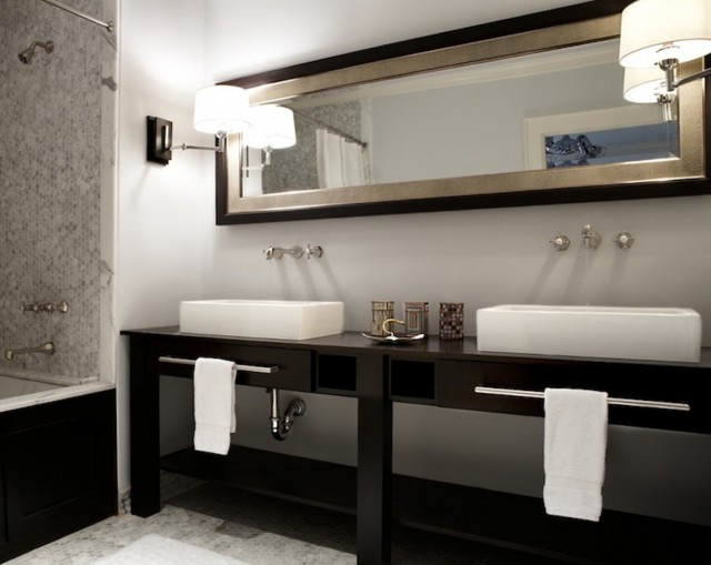 Double Sink Vanity Small Space