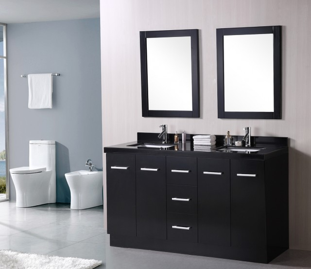 Small Double Sink Bathroom Vanity