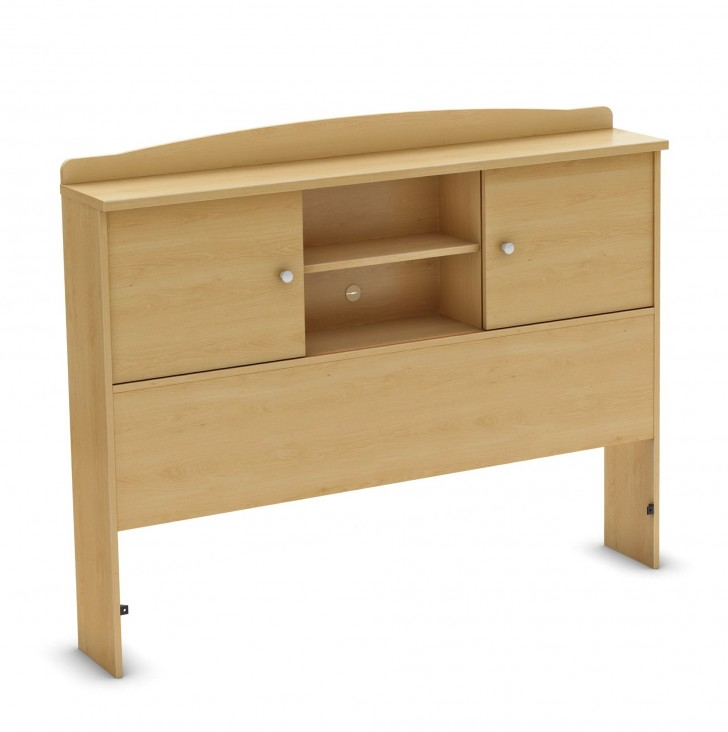 Permalink to Full Bed With Bookshelf Headboard