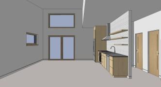 Birdsmouth ADU 2 Great Room Rendering
