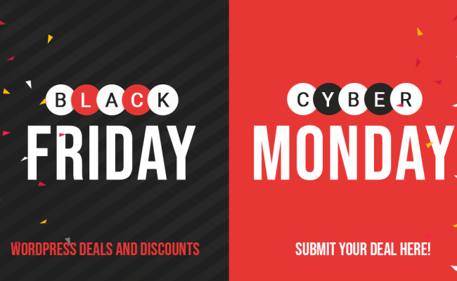 Best Wordpress Deals And Discounts For Black Friday