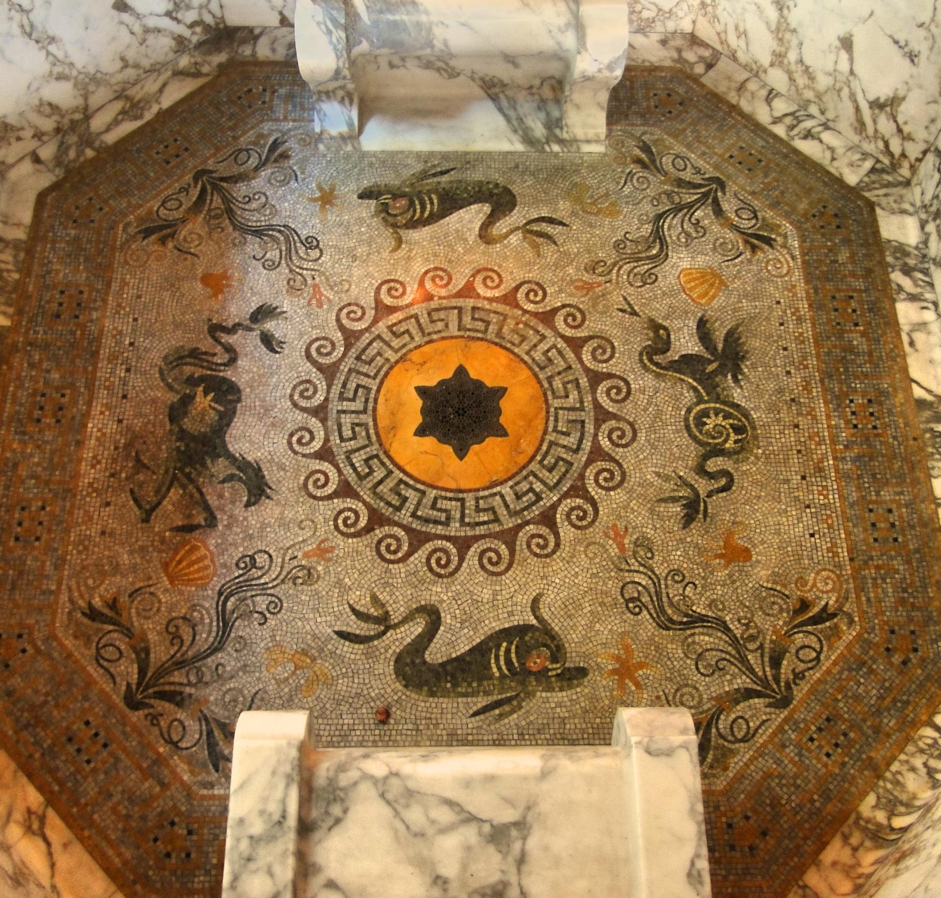 Romeins Fresco Pompeii
