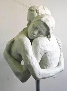 Sculpture of Embrace