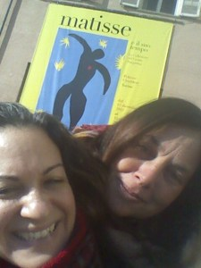 Laura and I at Matisse