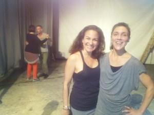 With Stephanie at Elabo