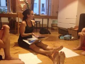 Daniela talks about feet