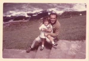 Dad and I in Mar del Plata