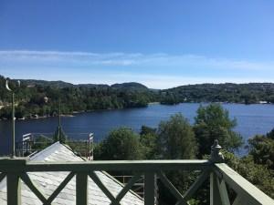 View from Troldhaugen