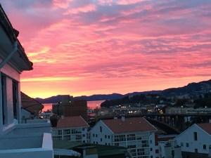 Sunset Bergen