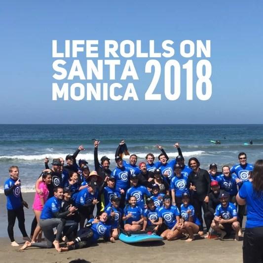 Life Rolls On Event in Santa Monica