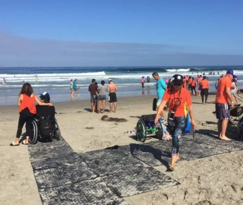 What Makes for an Accessible Beach Trip?