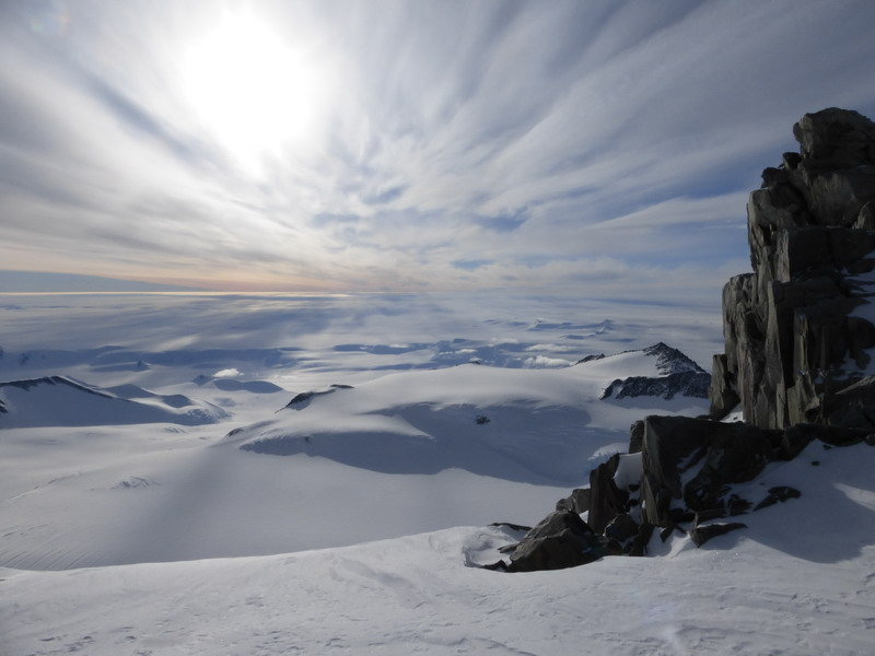 Climbing Vinson Massif