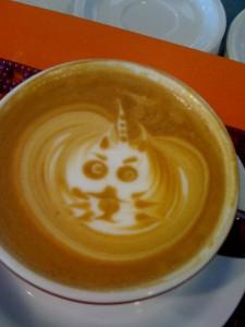 Pearl Latte Foam Design