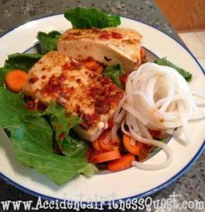 Spicy Thai Tofu Salad