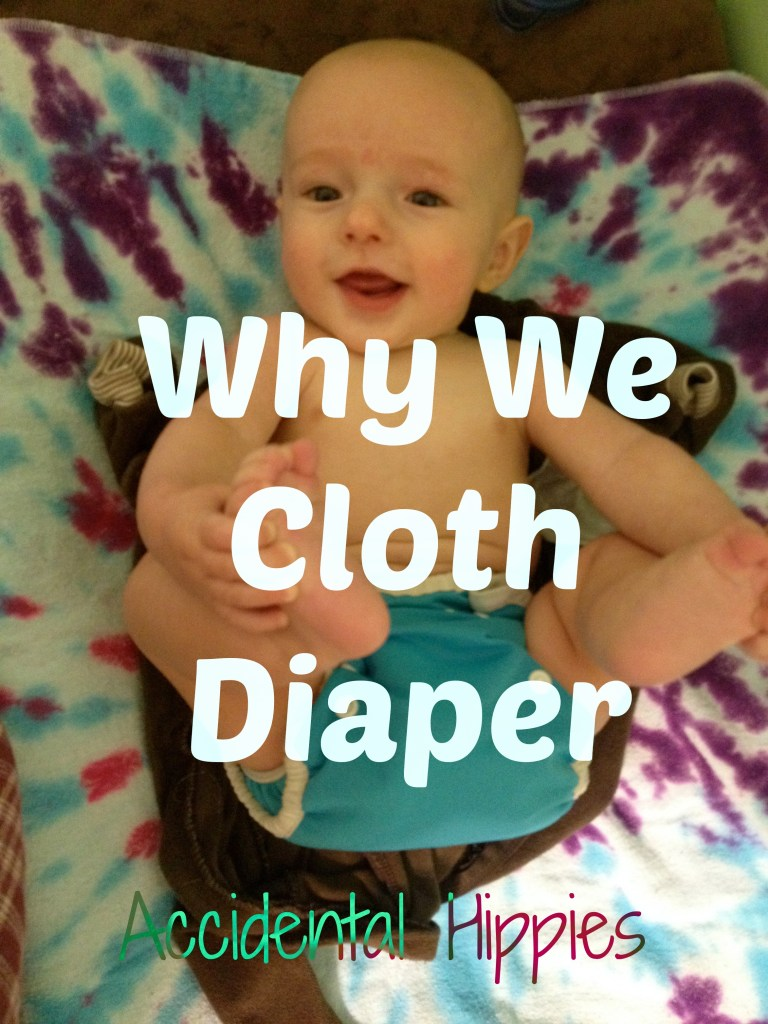 Why We Cloth Diaper