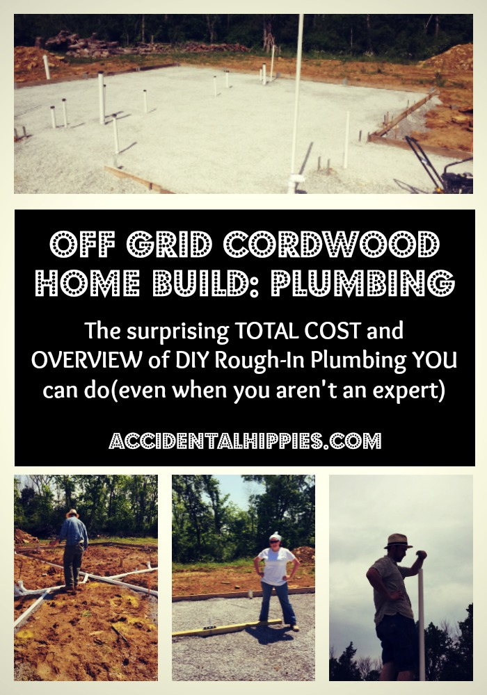 Want to build a house on your own one day, but are scared of plumbing? It's not as hard as you think, and with a little know-how and patient prep work, you can save THOUSANDS by doing a well-informed DIY job. Click to find out how much we spent and the process we used to DIY our rough-in plumbing