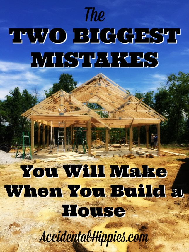 If you are building or are thinking about building a house - tiny, traditional, or otherwise - there are two big mistakes you're likely to make at some point along the way. How you prevent these mistakes and what you do when they happen anyway is critical! Check these tips for building safely, plus some home design considerations. #homebuilding #diy