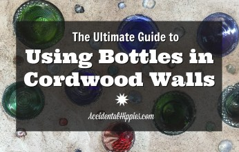 A complete guide to using bottles in cordwood walls, including our biggest FAQs from readers. Includes tools/materials list and links to get you started!