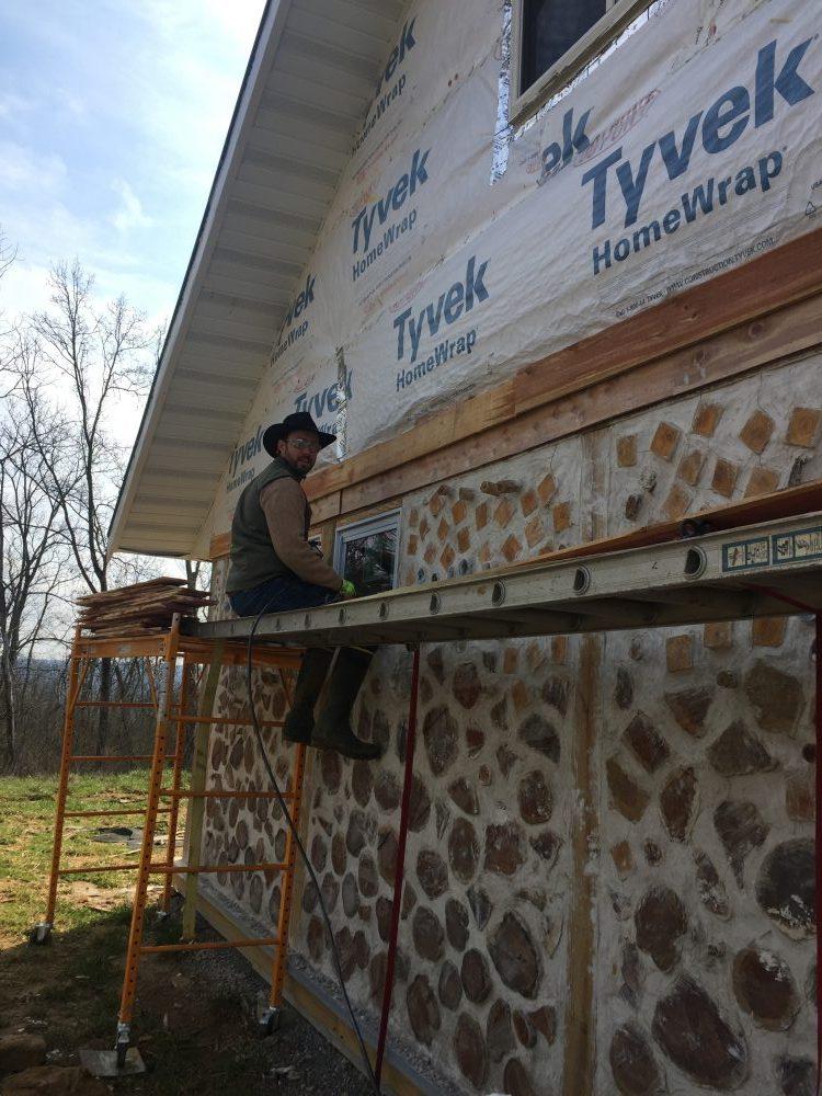 Learn how we DIYed our own cedar lap siding on the cheap!