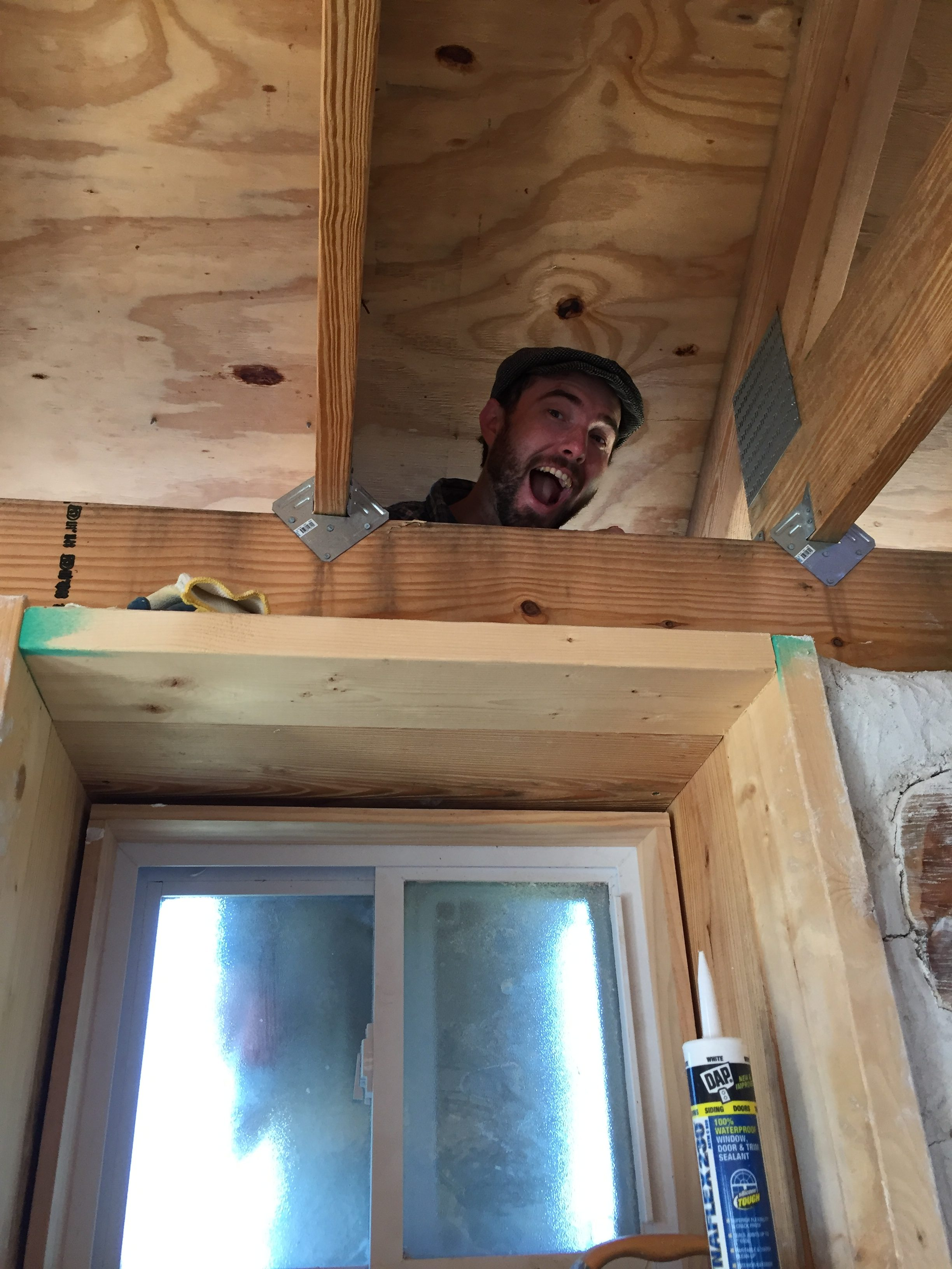 Building a house is hard work, but it's also pretty fun!