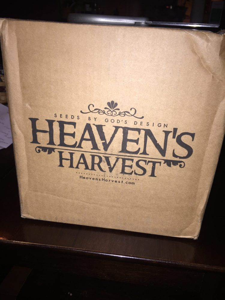 The Heaven's Harvest Seed Bucket is a tool worth checking out for building a prepared homestead