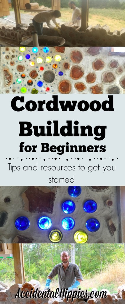 An overview guide to cordwood masonry building, links to resources, and tips to get you started #cordwood