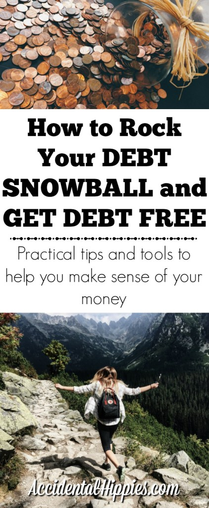 How and why you should use a debt snowball to kill your debt for good. Links to tools and resources to get you started. #debtsnowball