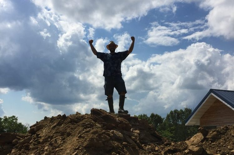 June Building Update: Our Off Grid Cordwood Home at One Year