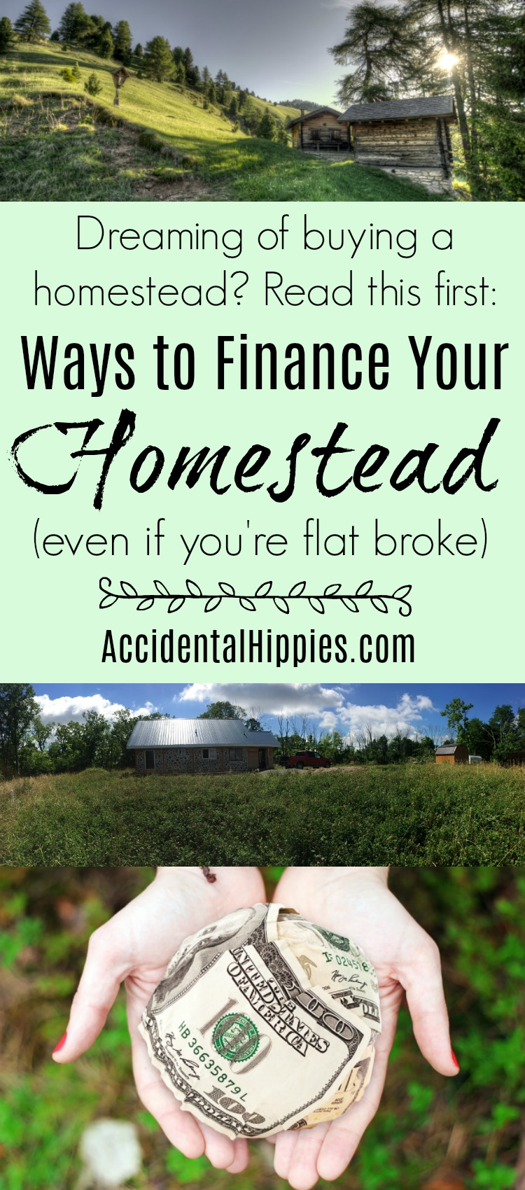 Financing your homestead even if you 39 re flat broke for Where to buy cheap land for homesteading