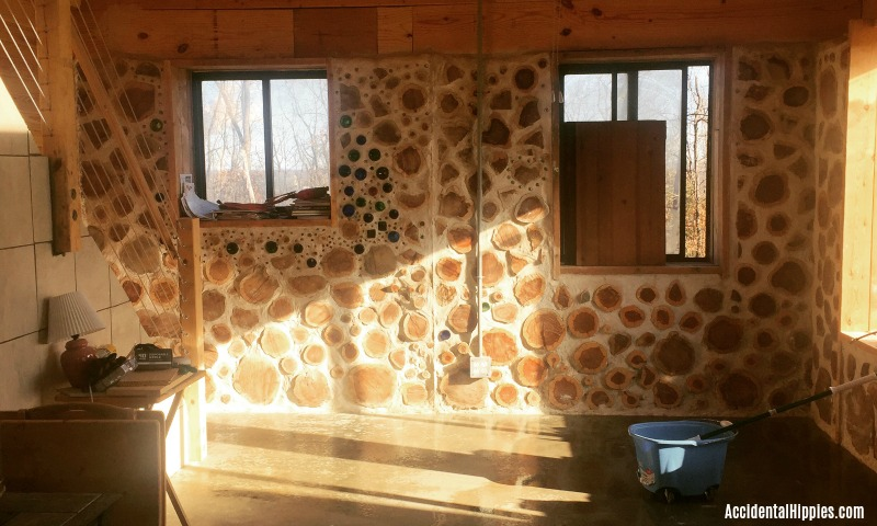 We built our own cordwood home from scratch! In this progress update, see what we did to finalize things before we officially moved in. Project overviews, details, and more.
